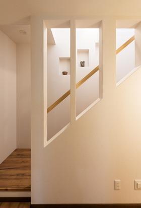 おしゃれでユニークな階段