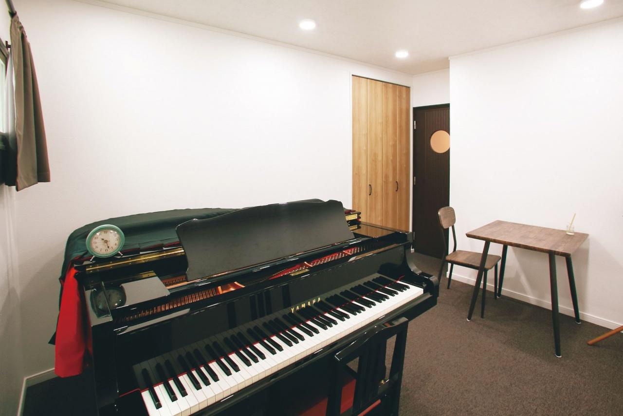 防音仕様のピアノ教室