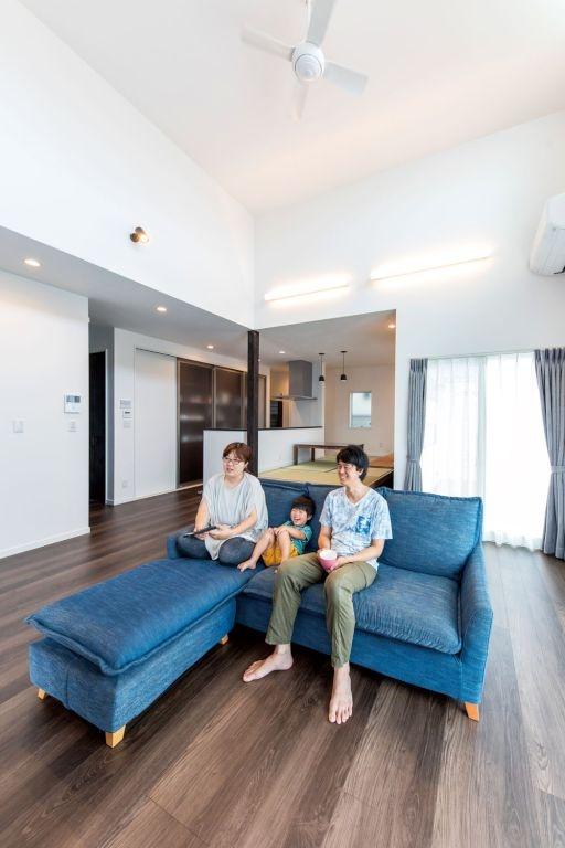 高天井にシアタールームも 満足度120%「多層空間®の家」