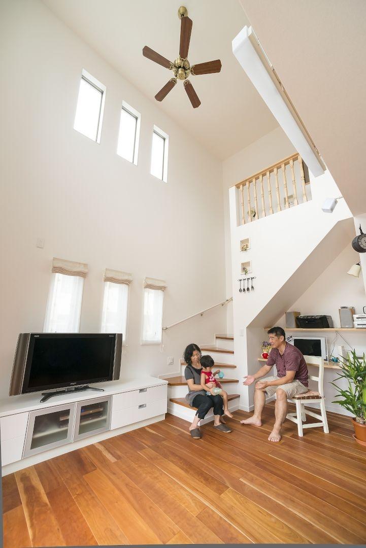 豊富な収納スペースと開放的な住空間