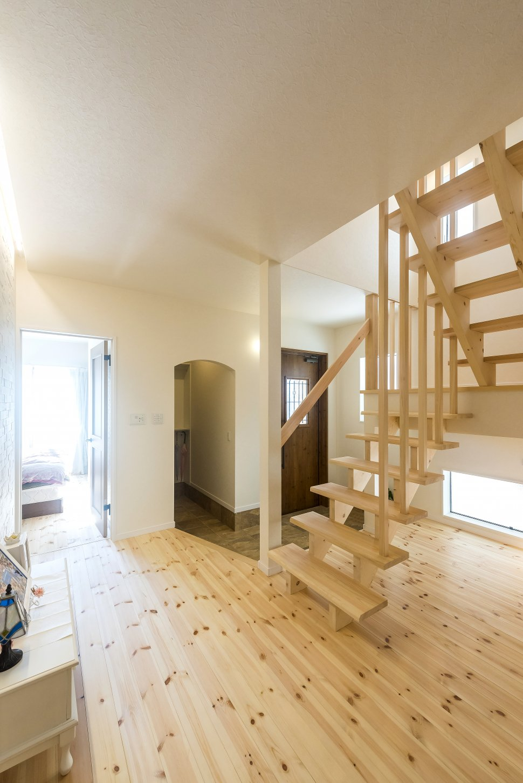 オープン階段