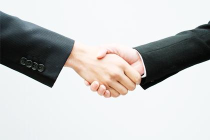 3その実績から、広いネットワークと強い絆を構築。