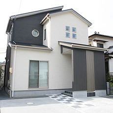 静岡市清水区新築住宅外観1