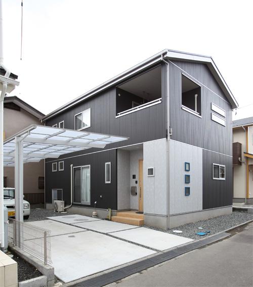木造2階建5層住宅