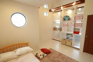 可動式壁収納 モデルハウス 子供部屋 大活躍 三和建設