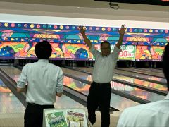 三和建設 イベント 委員会 ボーリング大会 大仙