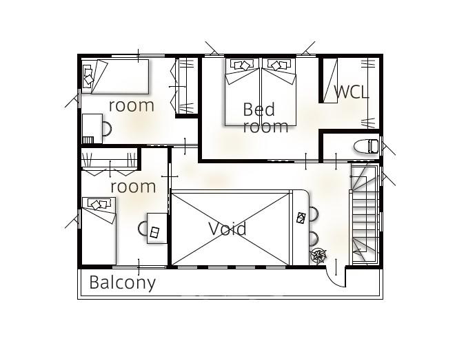 間取のいい家 高く売れる 洗面室とバルコニーの距離