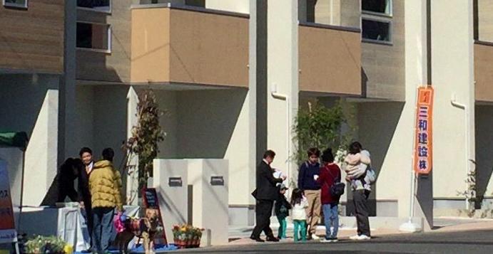 見学会 自由見学 販売会 静岡三和建設 見学会の様子