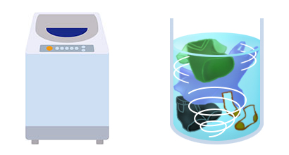 縦型洗濯機  ドラム式洗濯機