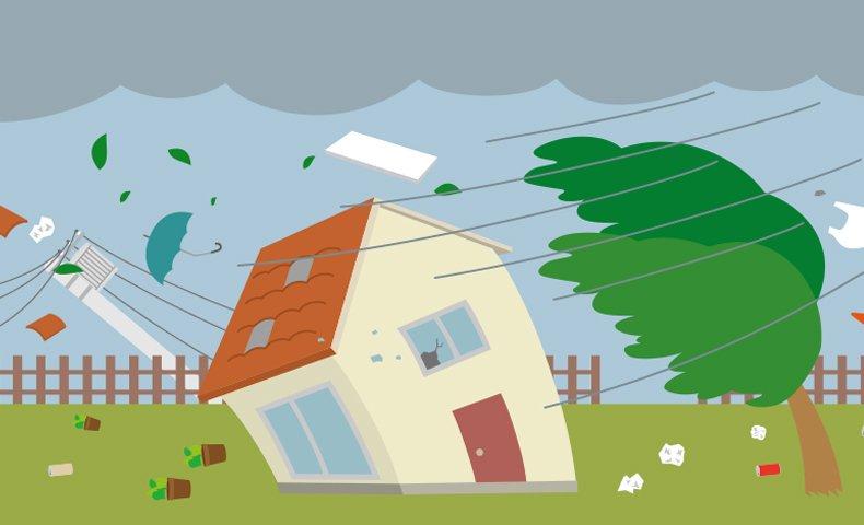台風 風速30メートル 土砂災害警戒情報 台風対策