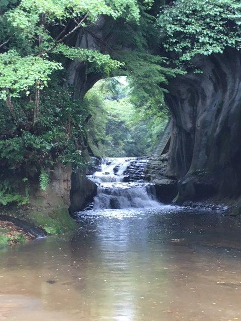 濃溝の滝  ジプリの「もののけ姫」 パワースポット 築地