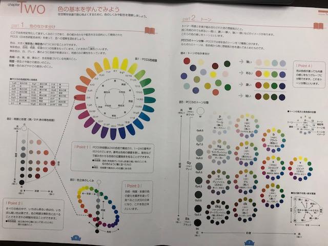 静岡三和建設 教育委員会 提案 カラーコーディネート 研修会