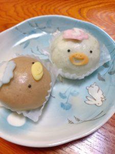 甘静舎 かっぱ 和菓子 稚児橋 清水
