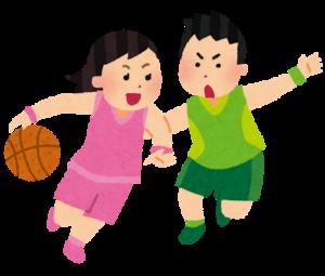 バスケ 三和建設 イベント 運動