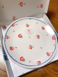 キャスキッドソン キャスドン ドンキ 皿 食器 花柄 富士 三和建設