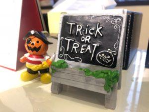 三和建設 ハロウィン 打合せスペース かぼちゃ