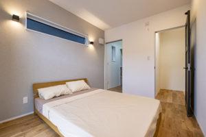 三和建設 プレゼンハウス 清水区 注文住宅 ベッドルーム 寝室