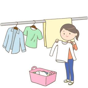 家事 洗濯 物干スペース 住宅 共働き家族