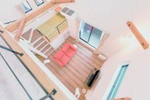 注文住宅 狭い敷地 3階建て スキップフロア 空間活用 畳コーナー