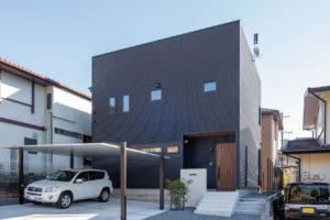 ガルバリウム鋼板 注文住宅 外壁 屋根 シンプルモダン
